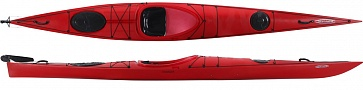 CoastSpiritPe ExpRudder Red