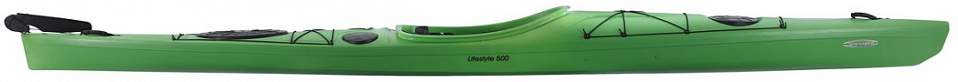 Lifestyle 500PE ExpeditionRudder Green side