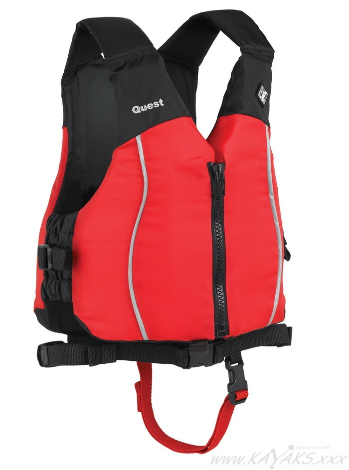 QUEST YOUTH Palm red
