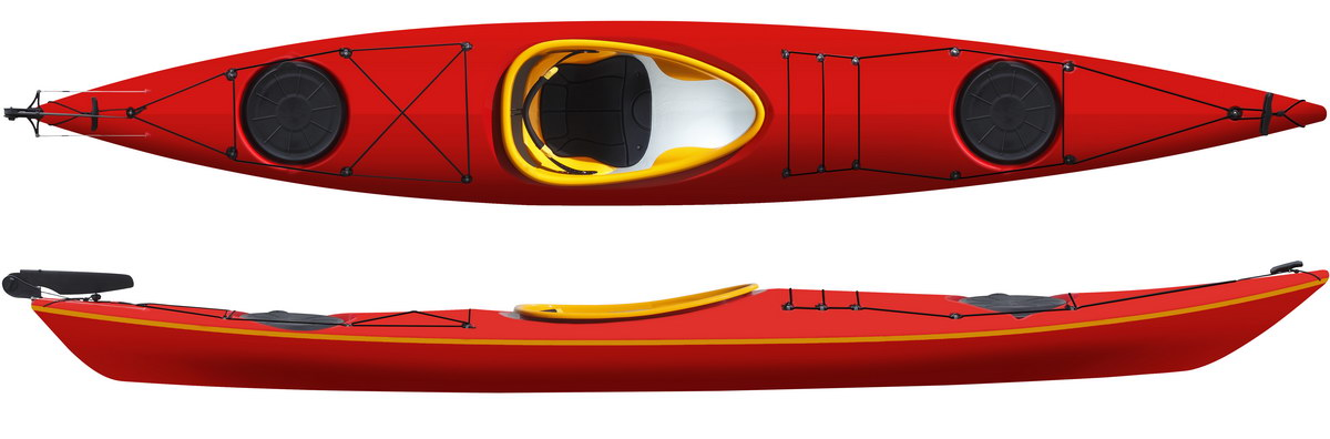 Lifestyle Solo ExpeditionRudder Red