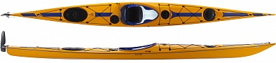 Wind 585 ExpeditionRudder Yellow