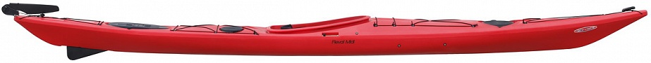 RevalMidiPE ExpeditionSkegRudder Red side