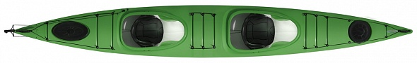 Lifestyle DuoPE ExpeditionRudder Green top