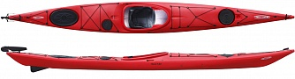 RevalMidiPE ExpeditionSkegRudder Red